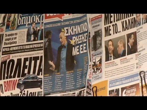 Yunanistan'da halk hükümetin 'alternatif' kriz programını bekliyor
