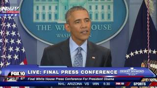 Did Obama Put Trump on BLAST During His FINAL News Conference? Addresses Freedom of the Press