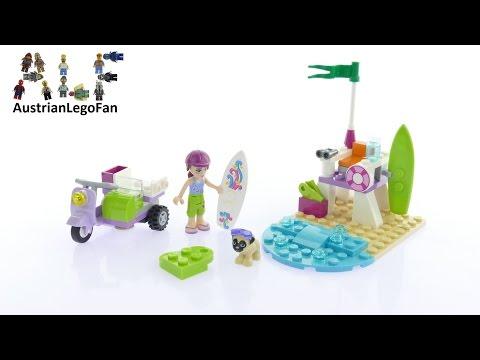 Vidéo LEGO Friends 41306 : Le scooter de plage de Mia