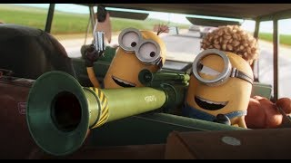 Video Minions 2015 robbing the bank scene 720p BluRay MP3, 3GP, MP4, WEBM, AVI, FLV April 2018