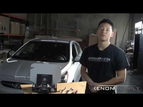 Hyundai Solaris Ксенон - Xenon Установка
