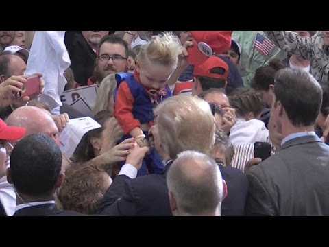 Donald Trump Signed A Baby