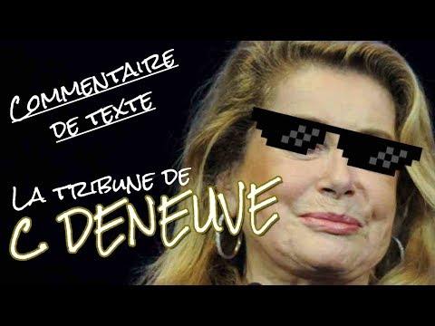 Quand Deneuve met en PLS les féministes (étude de texte)