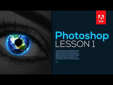 Adobe Photoshop CC 2017: Tutorial for Beginners - Lesson 1 (Layout & User Interface)