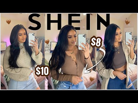HUGE SHEIN FALL TRY ON HAUL | 25+ Items | AFFORDABLE CLOTHING + ACCESSORIES ♡ FALL MUST HAVES !