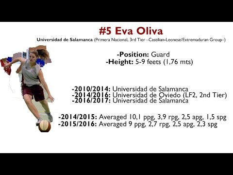 #5 Eva Oliva (Universidad De Salamanca): 2016-17 Regular Season Highlights