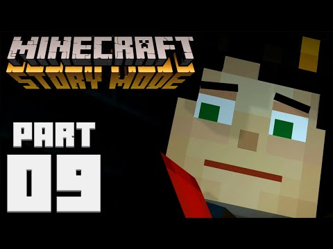 INTO THE GRINDER!   Minecraft: Story Mode - Part 9 [Episode 3]