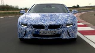 2014 BMW I8 Prototype In Motion - Drive Scence