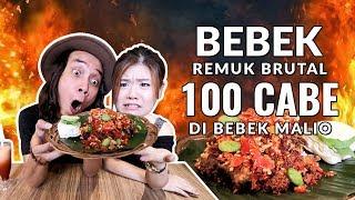 Video BRUTAL!! BEBEK Goreng REMUK 100 Cabe ft. Elisabeth Wang di BEBEK MALIO MP3, 3GP, MP4, WEBM, AVI, FLV November 2017