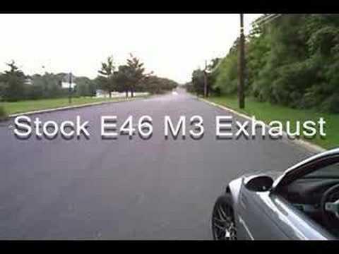 E46 M3 Full Ebay Exhaust