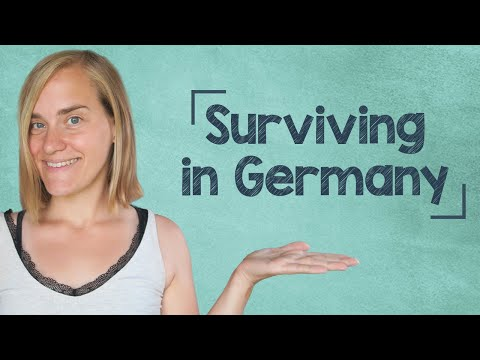German Lesson (40) - German for Beginners - Surviving in Germany - A1 (видео)