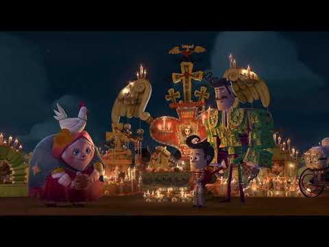 The Book of Life - The Day of The Dead, La Muerte and Xibalba Wager Scene
