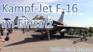 Amazing, Beautiful Takeoff & Fly! Besuch bei der ILA 2014 in Berlin. Traumhaftes Wetter war Vorort. Türkischer Pilot zeigt sein können! Kampf-Jet F-16 Fighti...