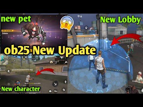 Free fire ob25 update | free fire new lobby ob25 | free fire new update ob25 | ob25 update date