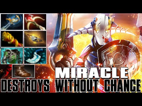 MIRACLE [Sven] Destroys Without Chance | Best Pro MMR - Dota 2