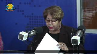 Ana V. Cabrera Pres. de Asc. de Comités de Amas de Casa comenta denuncias de las amas de casa
