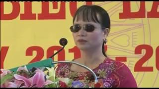 Đại hội đại biểu Hội người mù Thành phố Uông Bí lần thứ VI, nhiệm kỳ 2016-2022