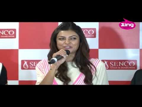 Sushmita Sen at the launch of a jewellery store -