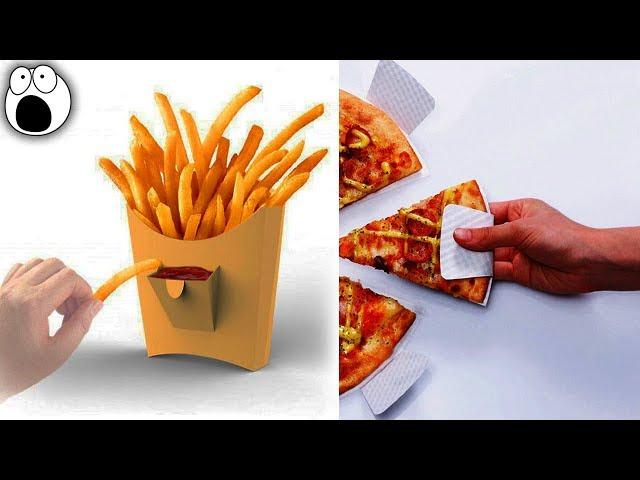 Video: Geniální nápady na obaly pro fast food