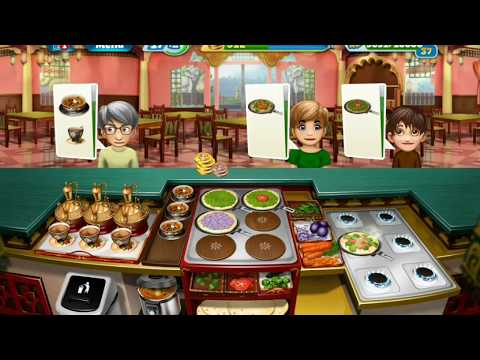 Cooking Fever Challenge - Indian Diner Restaurant #Part 2 L Level 4, 5, 6