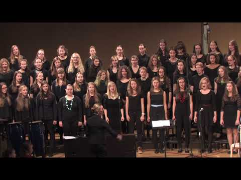 John Rutter GLEJ TA NAŠ SVET -  Akademija sv. Stanislava 2015 (видео)
