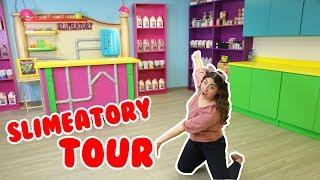SLIMEATORY TOUR | SLIME ROOM TOUR | Biggest slime room tour | Slimeatory #137