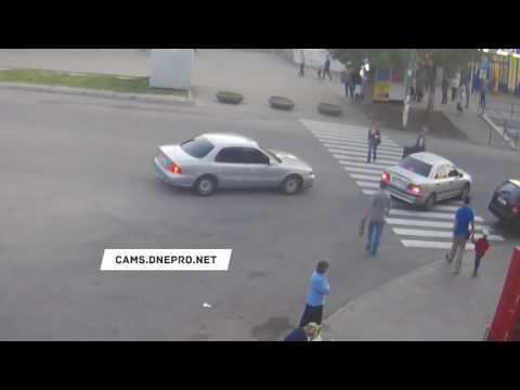 Авария с пешеходом в Днепродзержинске