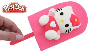 Video DIY How to Make Play Doh Hello Kitty Popsicle Modelling Clay Learn Colors RL MP3, 3GP, MP4, WEBM, AVI, FLV Juli 2017