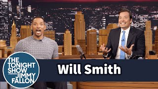 Video Will Smith Fanboyed When He Saw the Batmobile on the Suicide Squad Set MP3, 3GP, MP4, WEBM, AVI, FLV Agustus 2018