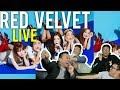 """RED VELVET """"WITH YOU"""" we can """"POWER UP"""" (Live stage Reactions)"""