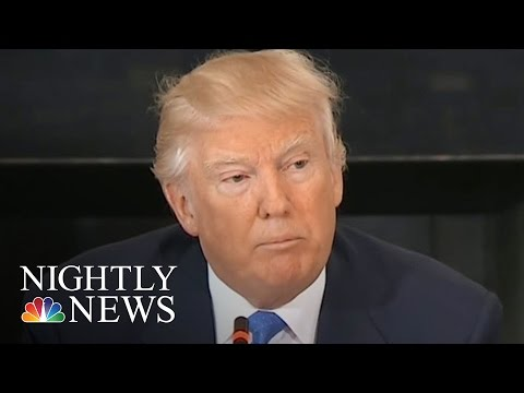 U.S. Nuclear Arsenal: Pres. Donald Trump Says He Wants Build-Up | NBC Nightly News