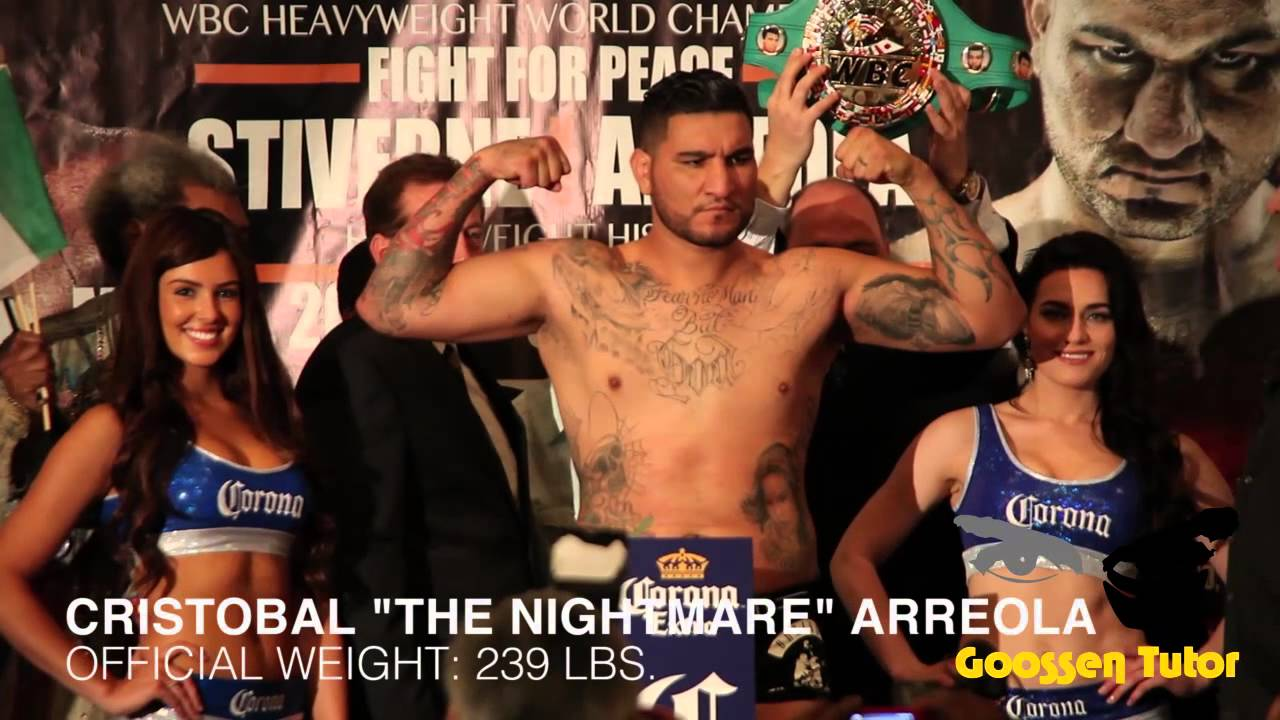 Chris Arreola talks about beating Stiverne