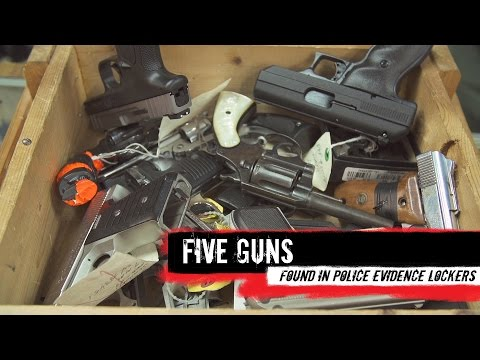 Top 5 Guns Found in Evidence Lockers
