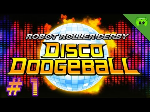 ROBOT ROLLER-DERBY DISCO DODGEBALL # 1 «» Da kommt der Beat | Full HD