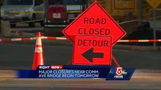 Beginning at 9 p.m. Wednesday, the real headache begins for commuters.Subscribe to WCVB on YouTube for more: http://bit.ly/2526UpSGet more Boston news: http://www.wcvb.comLike us: https://www.facebook.com/wcvb5Follow us: https://twitter.com/WCVBGoogle+: https://plus.google.com/+wcvb