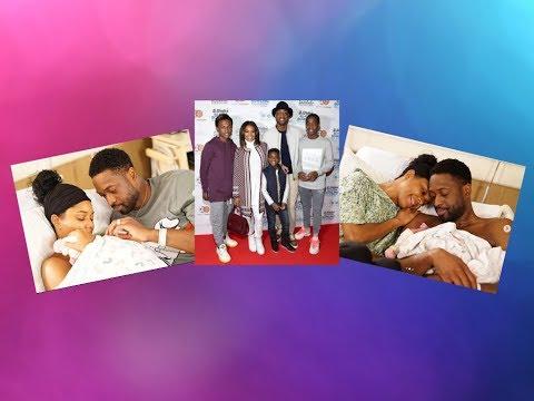 Gabrielle Union & Dwyane Wade Welcome