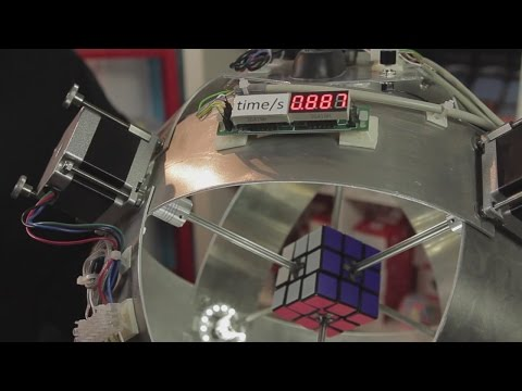 Video: Rubik's cube solved in 0.887 s