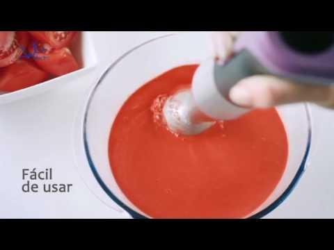 Video: Tyčový mixér Jata BT160, oranžový
