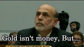 ロン・ポールvsB・バーナンキ「Goldは貨幣か?」宿敵対決