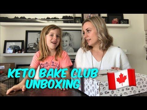 Atkins diet - Canadian Keto Subscription Box - Keto Bake Club - January