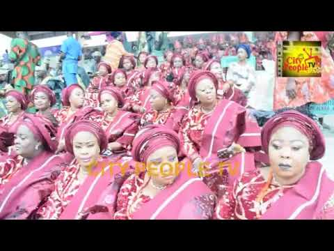 Over Ten Thousand Women Parade In Their Colorful Dress @ Ojude Oba 2019