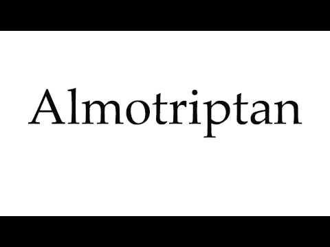 How to Pronounce Almotriptan