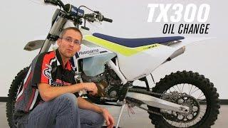 7. 2017 Husqvarna TX 300 Oil Change