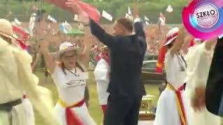 Mamy HIT! Andrzej Duda dance na Polach Lednickich!!!