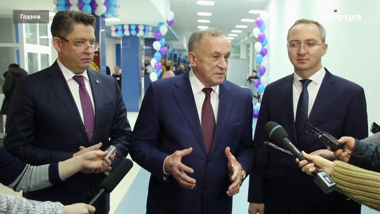 Глава Удмуртии поздравил коллектив Чепецкого механического завода с юбилеем