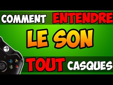 comment regler son casque xbox 360