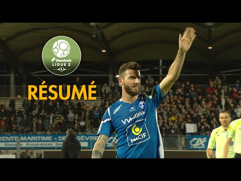 Chamois Niortais - RC Lens ( 2-2 ) - Résumé - (CNFC - RCL) / 2017-18