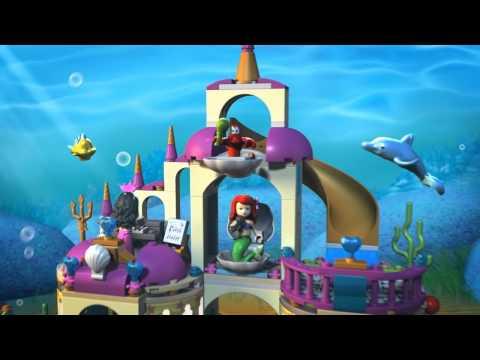 Vidéo LEGO Disney 41063 : Le royaume sous-marin d'Ariel