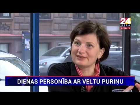 """Veselības ministres Ilzes Viņķeles saruna Rīga TV24 """"Dienas personība ar Veltu Puriņu"""""""