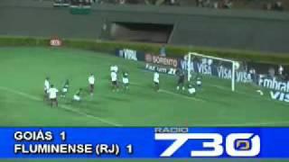 Copa do Brasil 2009 - Oitavas/Ida - Goiás 2 x 2 Fluminense - Estádio Serra Dourada - Gols do Verdão: Rafael Tolói e Felipe Menezes - Público: 7.723 ...